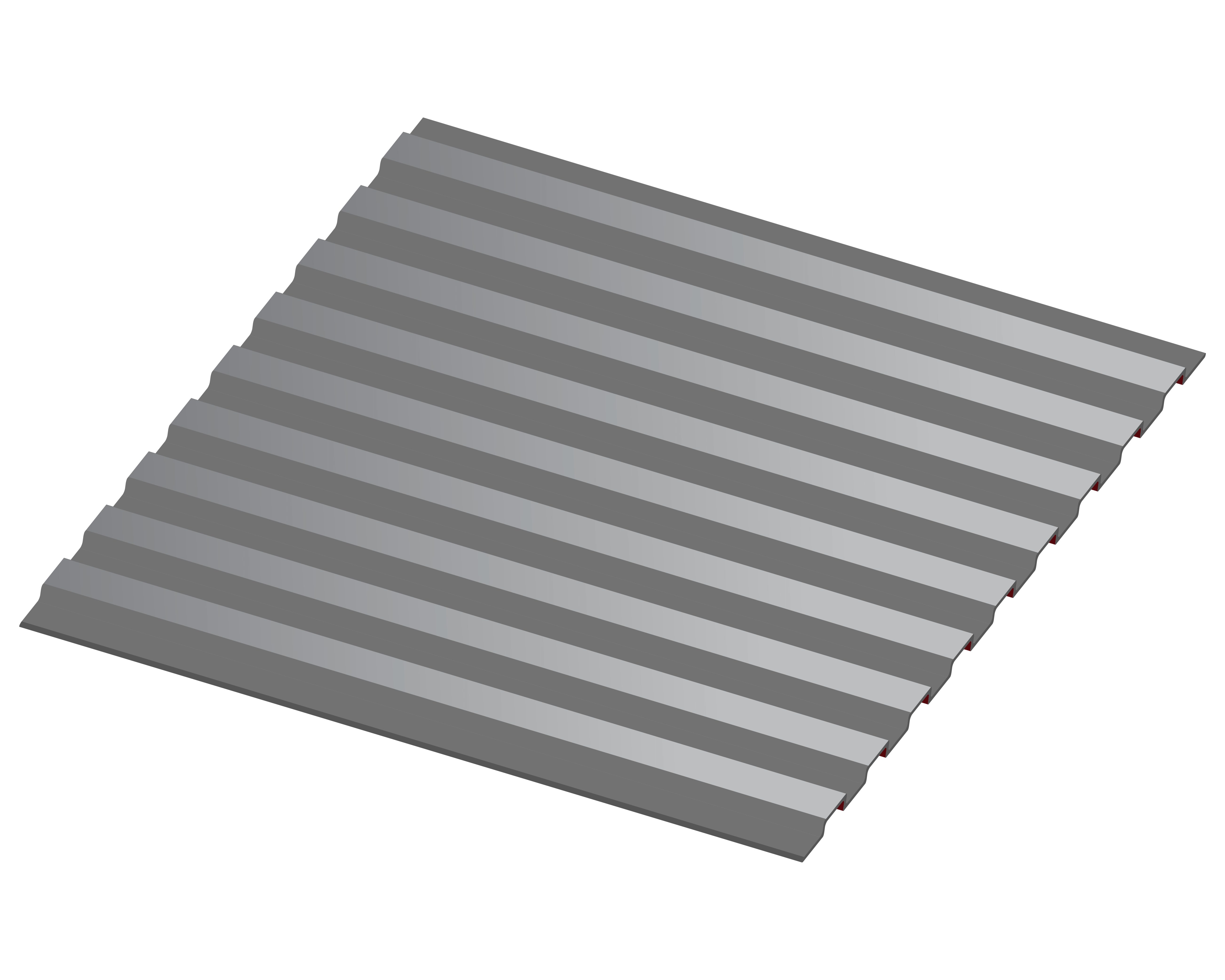 3D Roof for Commercial Roofing