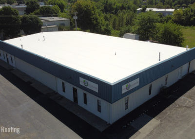 commercial roofing previous work