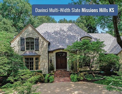 Residential Roofing for Davinci Multi-Width Slate